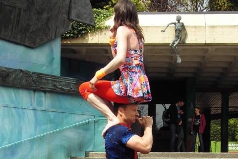 Akrobatik, Comedy und Jonglage Duo Berlin (3)
