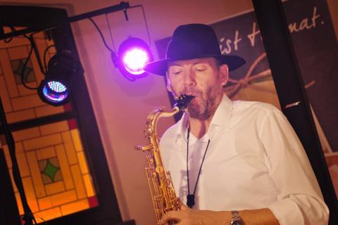 Alleinunterhalter und Saxophonist aus Chemnitz (2)