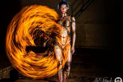 Bodypainted-Walking-Acts-from-Berlin-4