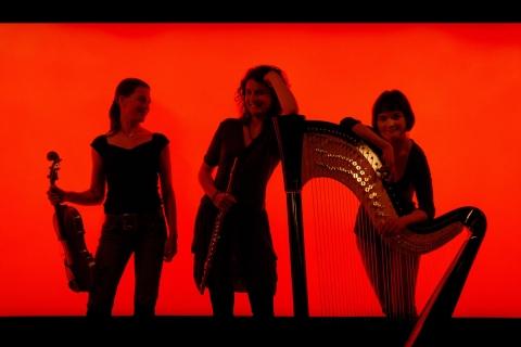 Harfe-Bratsche-und-Flöte-Trio-2