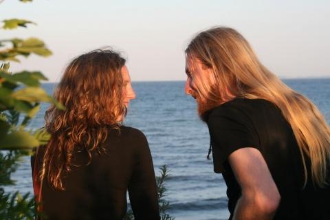 Das Harfe und Dudelsack Duo (1)