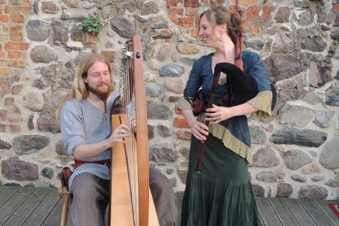 Das Harfe und Dudelsack Duo (2)