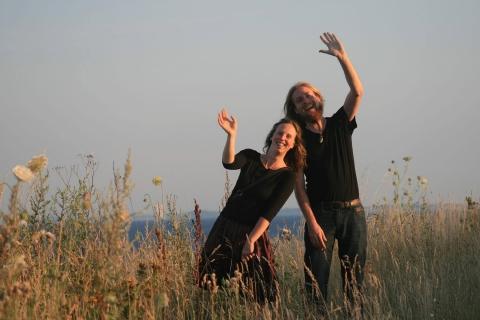 Das Harfe und Dudelsack Duo (5)