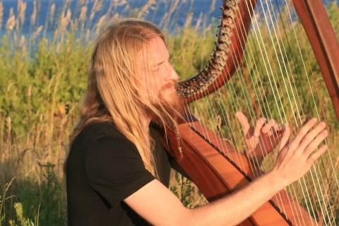 Das Harfe und Dudelsack Duo (7)