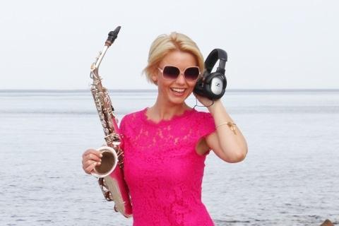 Die temperamentvolle Saxophonistin (13)