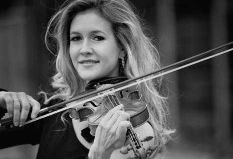 Die Magie der Geige Soloviolinistin (1)