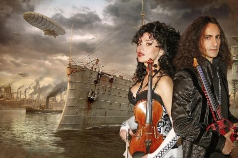Die Show der tanzenden Geigen  (1)