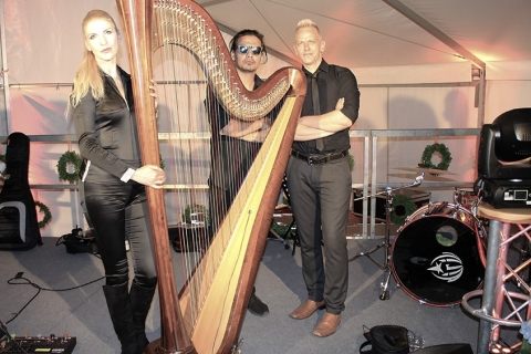 Eventband mit Harfe Berlin (3)