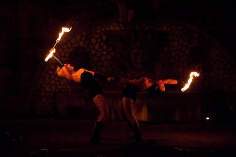 Feuershows Rheinland (2)
