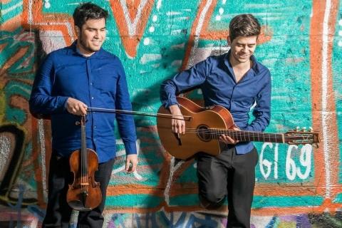 Leidenschaftliches Duo Geige & Gitarre Dresden (4)