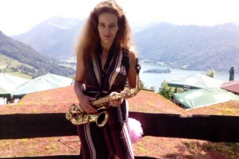 Lady Luck - Saxophonistin Bayern (2)