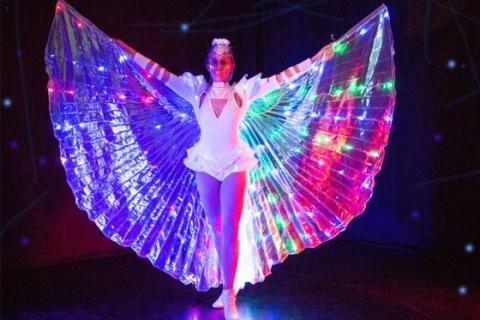 Licht, LED und Schwarzlichtshows Rheinland (6)