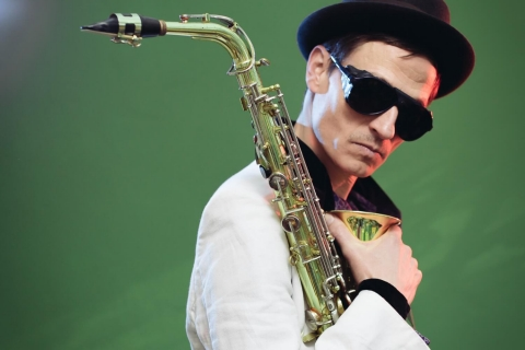 Niklas on Sax and DJ in Potsdam (2)