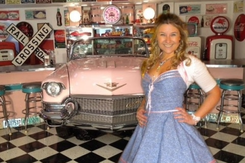 Pink Cadillac 50s 60s (3)