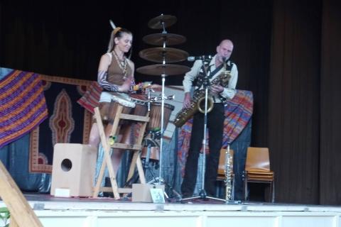Saxophon und Perkussion Duo (1)