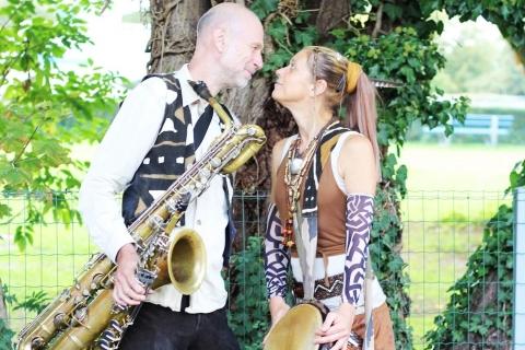 Saxophon und Perkussion Duo (3)