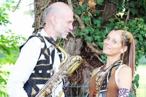 Saxophon und Perkussion Duo (5)