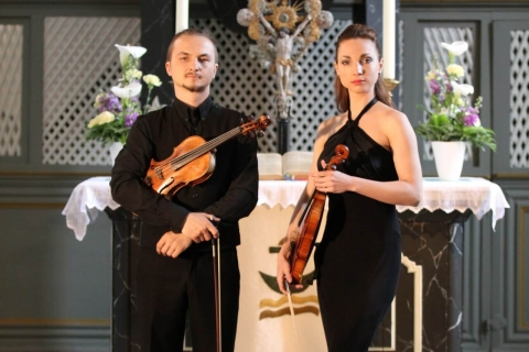 Violin-Duo - Orchestra in two violins (5)