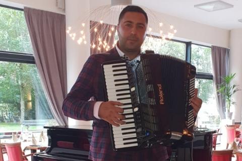 Akkordeonist Florian