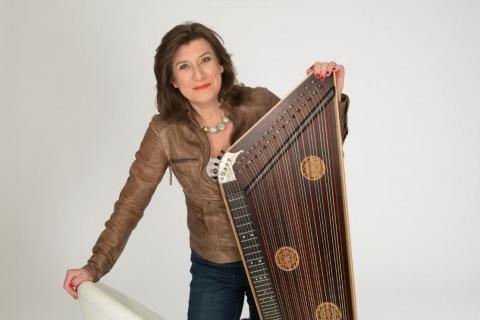 Zitherspielerin und Harfenistin München (10)