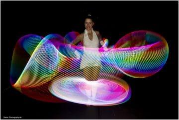Lichtshow der Elemente