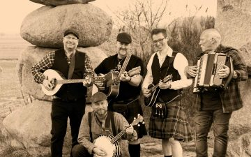 Irish Folk Band aus dem Westen