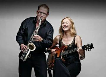Jazz Duo Sax und Gitarre (4)