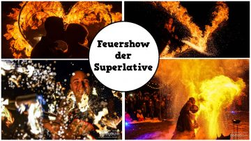 Feuershow der Superlative aus Leipzig
