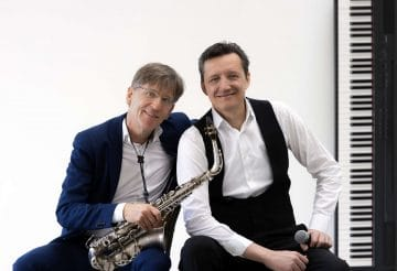 Saxophone und Piano Duo mit Gesang
